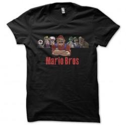 tee shirt mario bros mafia...