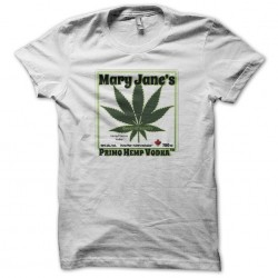 Mary Janes Primo Hemp white sublimation Vodka T-shirt