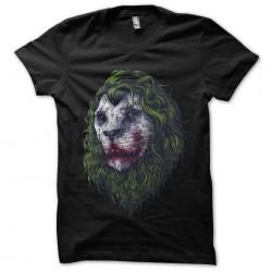 joker t-shirt lion black...