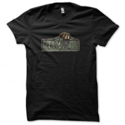 tee shirt elm street black...
