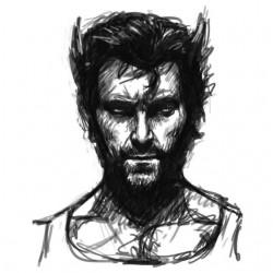 tee shirt Wolverine sketch...