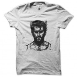 tee shirt Wolverine sketch  sublimation
