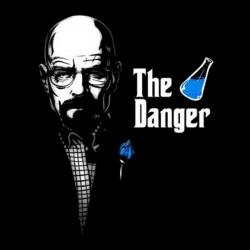 shirt the danger black sublimation