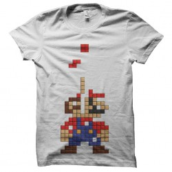 tee shirt tetris mario...