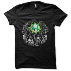 shirt mushroom worship...