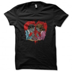shirt love zombie black...