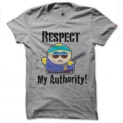 tee shirt respect my...