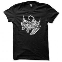 Tattoo shirt Dragon black sublimation