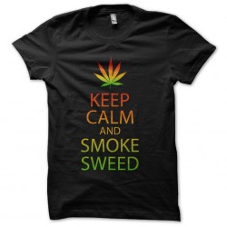 keep calm and smoke t-shirt...