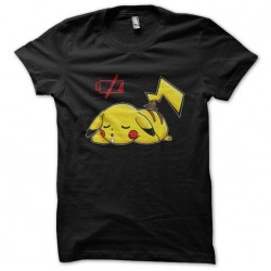 t-shirt pikachu battery low...