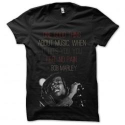 t-shirt bob marley black...