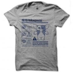 t-shirt mogwai notice gray...