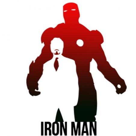Iron man white sublimation t-shirt