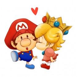 tee shirt mario love love...
