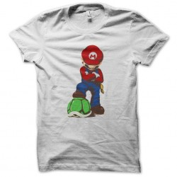 shirt supper mario white sublimation