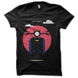 bat vespa t-shirt black...