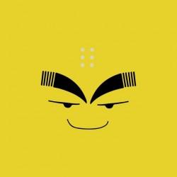 Tee shirt Krilin parodie visage  sublimation