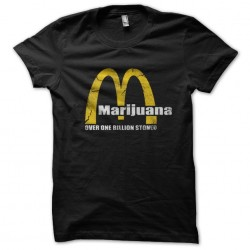 marijuana tee shirt over...