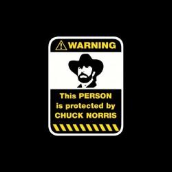 Warning sign Protected...
