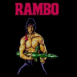 tee shirt rambo  sublimation