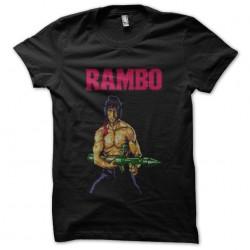 t-shirt rambo black...