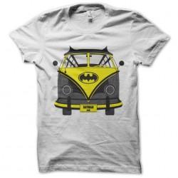batman car t-shirt white sublimation