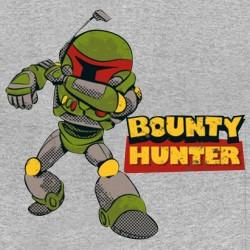 t-shirt bounty hunter gray sublimation