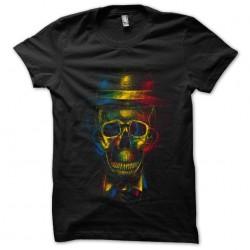 shirt skull 3d black...