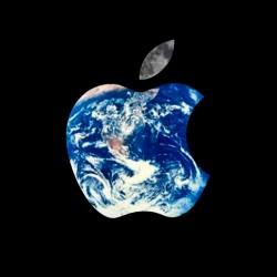 t-shirt Apple World black sublimation