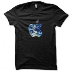 t-shirt Apple World black...
