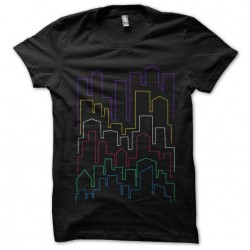 tee shirt City of Colors...