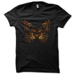 tee shirt butterfly tiger...