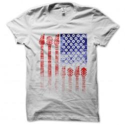 t-shirt hombre vitruvio american rock white sublimation