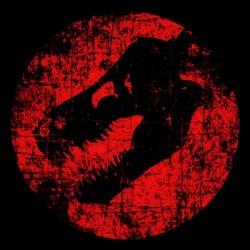 shirt Dinosaur black sublimation