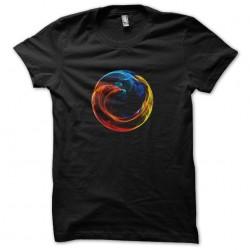 tee shirt Firefox  sublimation