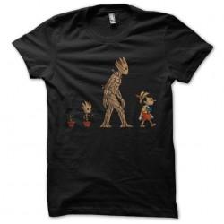 tee shirt evolution groot...