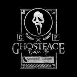 tee shirt ghostface black sublimation