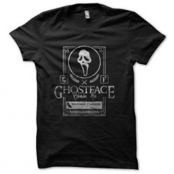 tee shirt ghostface black...