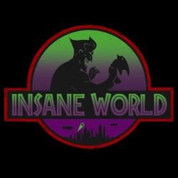 shirt insane world black sublimation