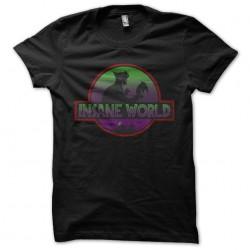 shirt insane world black...