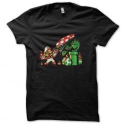 t-shirt mario vs aliens...