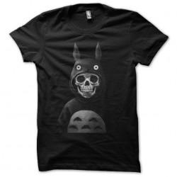 tee shirt skull totoro...