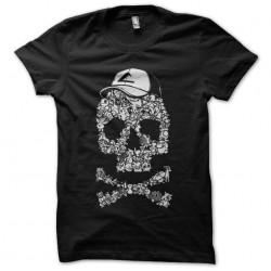 t-shirt pokemon skull black...