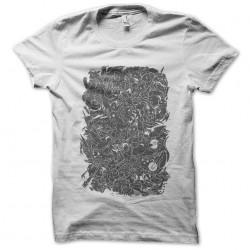 white pokemon sublimation t-shirt