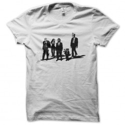 reservoir dogs guardians t-shirt of the galaxy white sublimation
