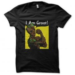 shirt I Am Groot black...