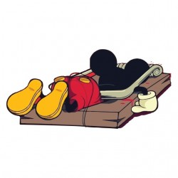 Mickey mouse trap t-shirt....