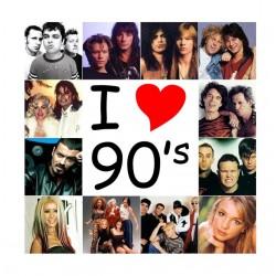 tee shirt I love 90...