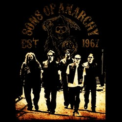 tee shirt sons of anarchy   sublimation