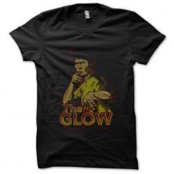 tee shirt the glow black...